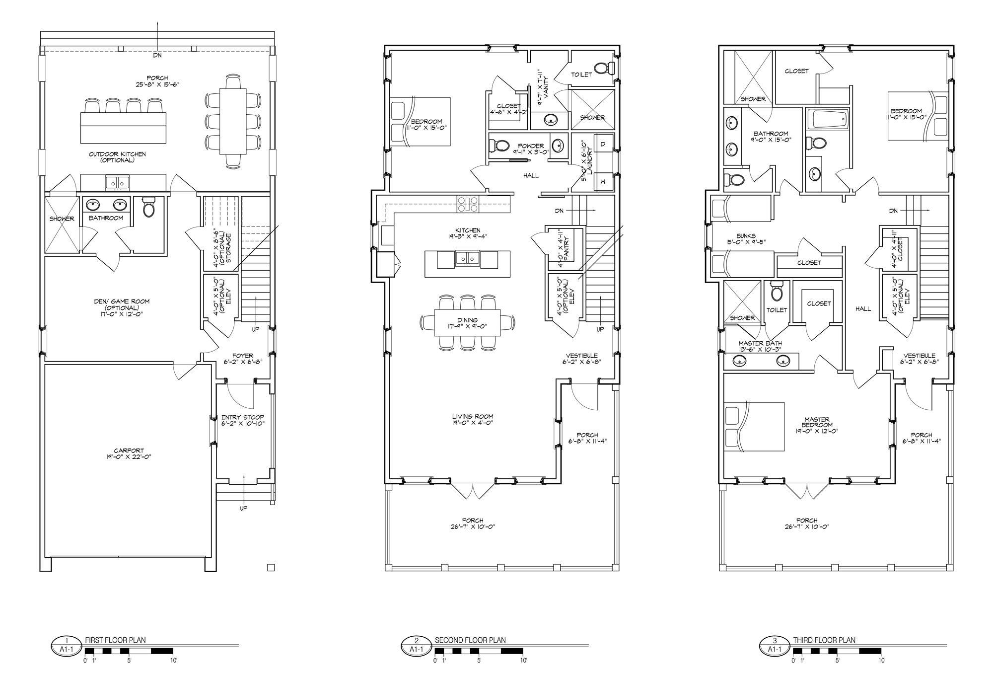 Model One Floor Plan Mouse over to Zoom
